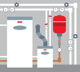 Boiler room.