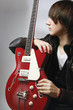 A young guitarist
