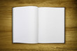 open lined notepad