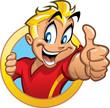 Thumbs Up Kid - 41116675
