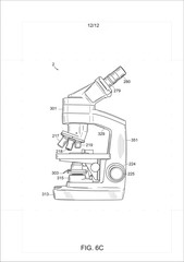 vector illustration of a fake patent drawing