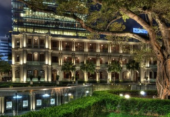 1881 Heritage by night, Hong Kong.