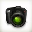 Camera icon, vector