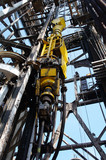Oil Drilling Rig Top Drive System (TDS) - Petroleum Industry