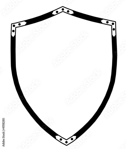 Isolated 16th Century War Shield