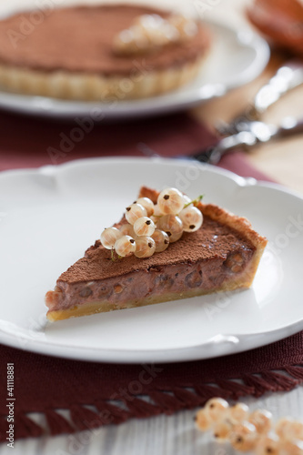 White currants tart