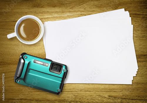 camera coffee break