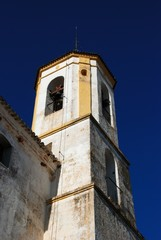 Church bell tower, Yunquera, Spain © Arena Photo UK