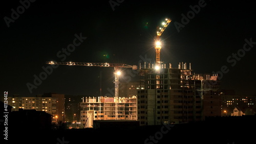 construction site timelapse