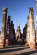 Ancient pagoda in Sukhothai Historical Park, Thailand