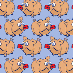 cartoon pig background