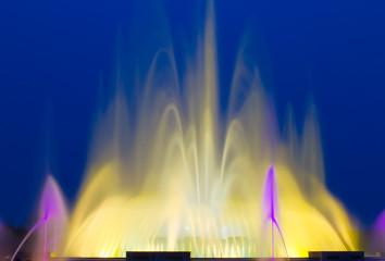 Beautiful Colorful Musical Fountain