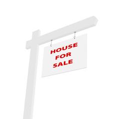 Werbung Verkauf von Haus