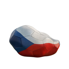 czech republic deflated soccer