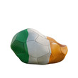 ireland deflated soccer ball