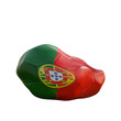 portugal deflated soccer ball