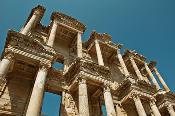 Efes Antik Kent Kütüphane 9