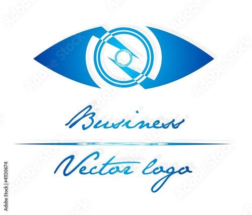 Blue eye logo
