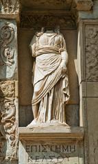 Efes Kütüphanesi Heykel 2