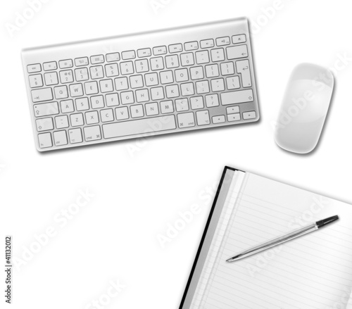 white desktop above