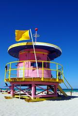 south beach cabane rose