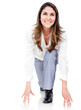 Businesswoman ready to run