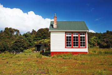 Backcountry hut, New Zealand