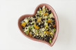 Heart Dish of Quinoa Salad