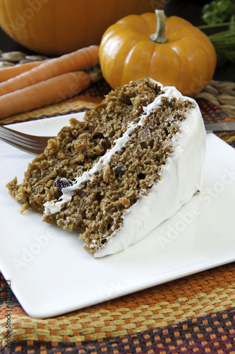 Harvest Time Carrot Cake