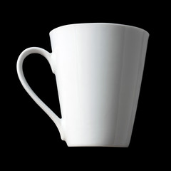 White Blank Coffee Cup