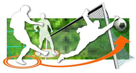 soccer goal goalkeeper