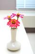 flower on vest interior