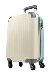 luggage on white