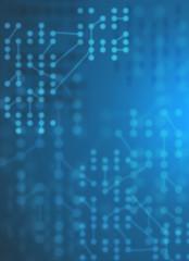 回路、ネットワークイメージ背景素材