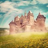 Fototapety Fairy tale princess castle