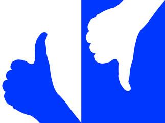 Mani in contrasto