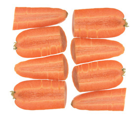 Slices of Carrots