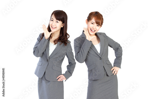 Beautiful business women