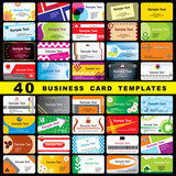 40 business cards