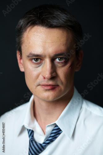 Expertised businessman