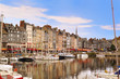 Постер, плакат: The beautiful old port of Honfleur Normandy France