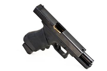 Pistole geladen