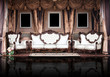 Elegant vintage room. Palace.