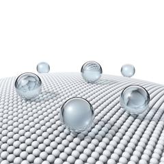 Nano-Beschichtung - Nano-Struktur