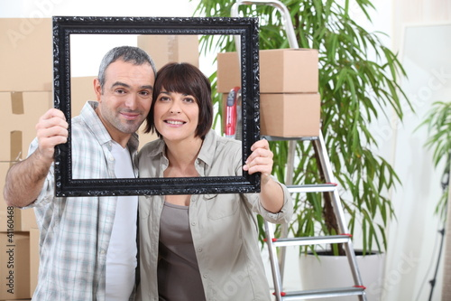 couple moving in new flat
