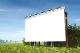 Fototapety advertising wall