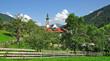 der Urlaubsort Oberau in der Wildschönau in Tirol