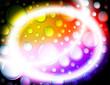 Sfondo bolle colorate