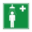 Señal ducha de seguridad