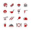 Food Icons / Set 2 of 2 // Redico Series
